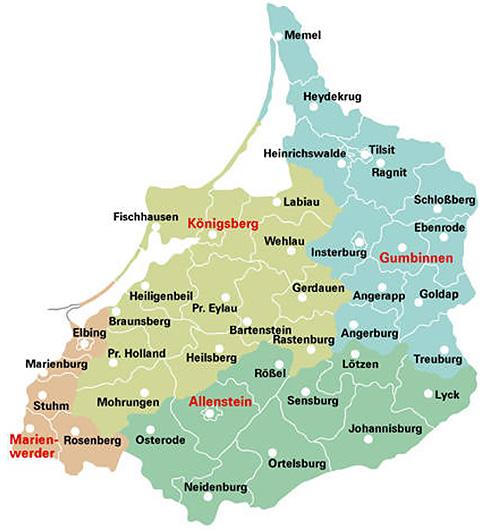 Karte Ostpreußen.Kulturzentrum Ostpreußen In Ellingen Bay Ostpreußen